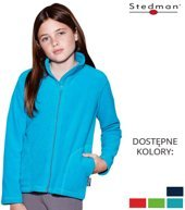 ACTIVE FLEECE JACKET KID ST5170 - BLUE MIDNIGHT - 220 G/M2
